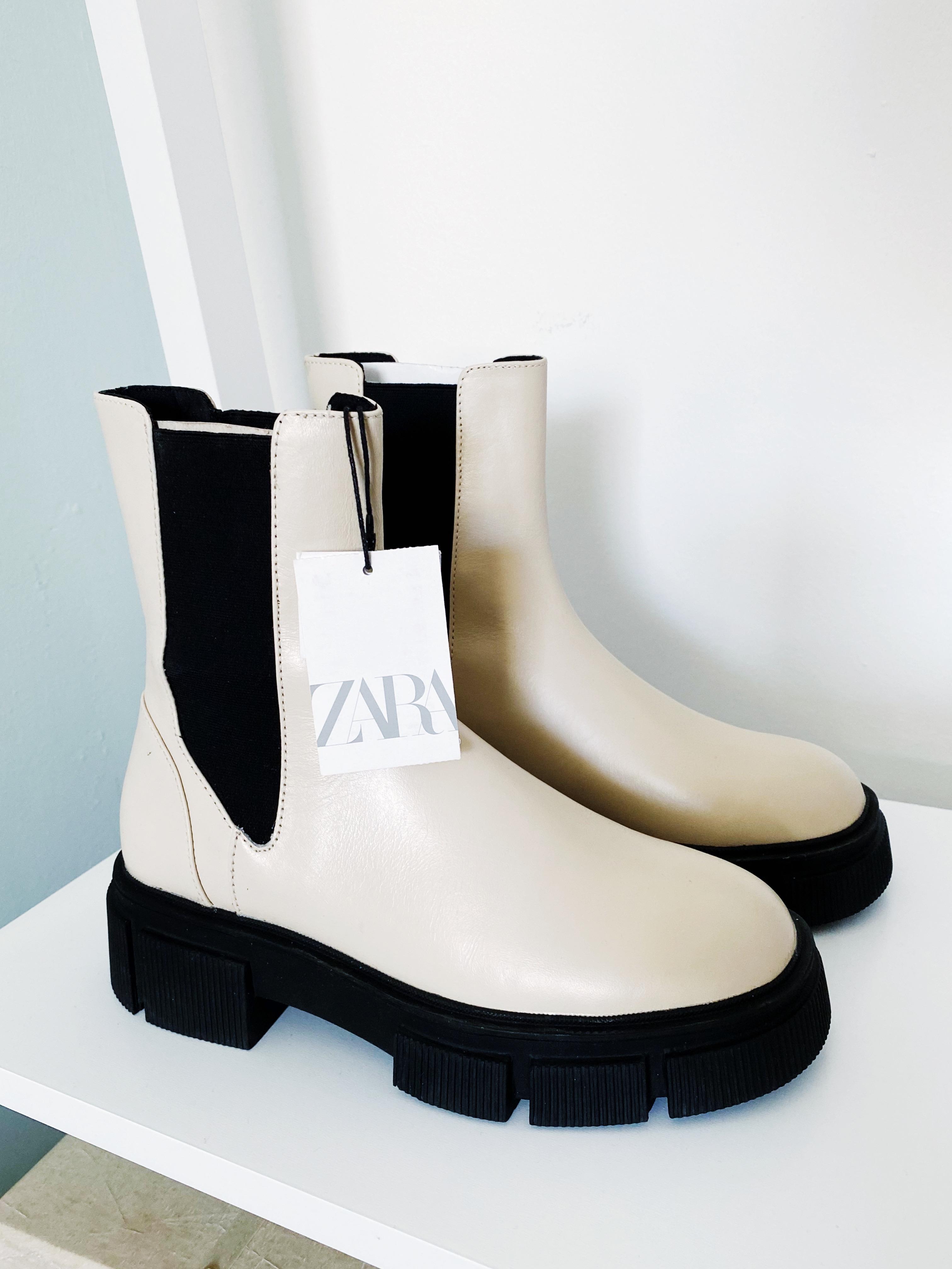 Image of Zara Chelsea boots