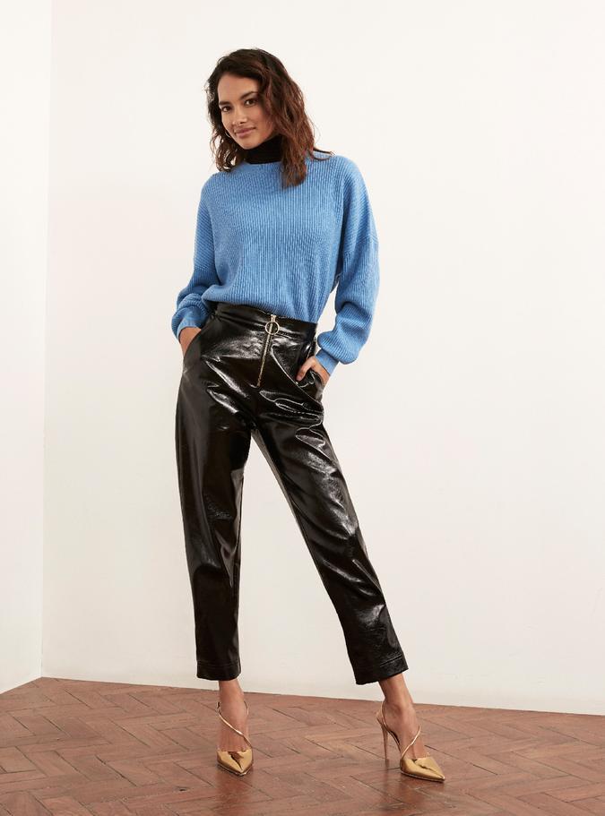 Image of Kitri Eleonora Vinyl Trousers