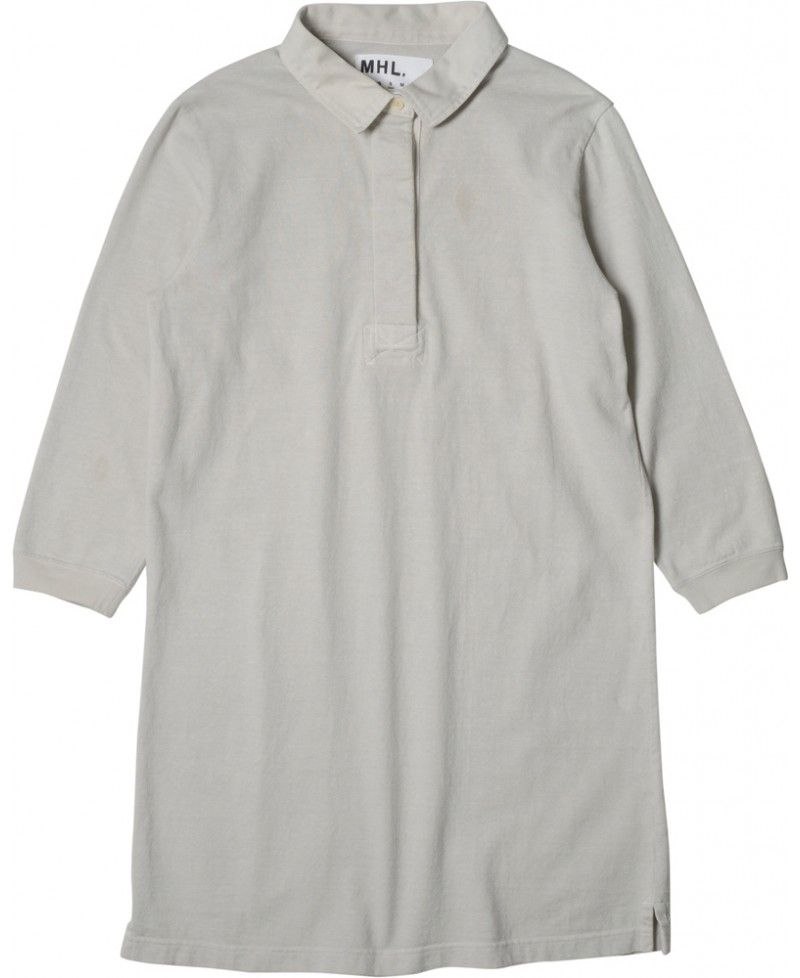 Image of MHL. by Margaret Howell MHL. Rugby Shirt Dress