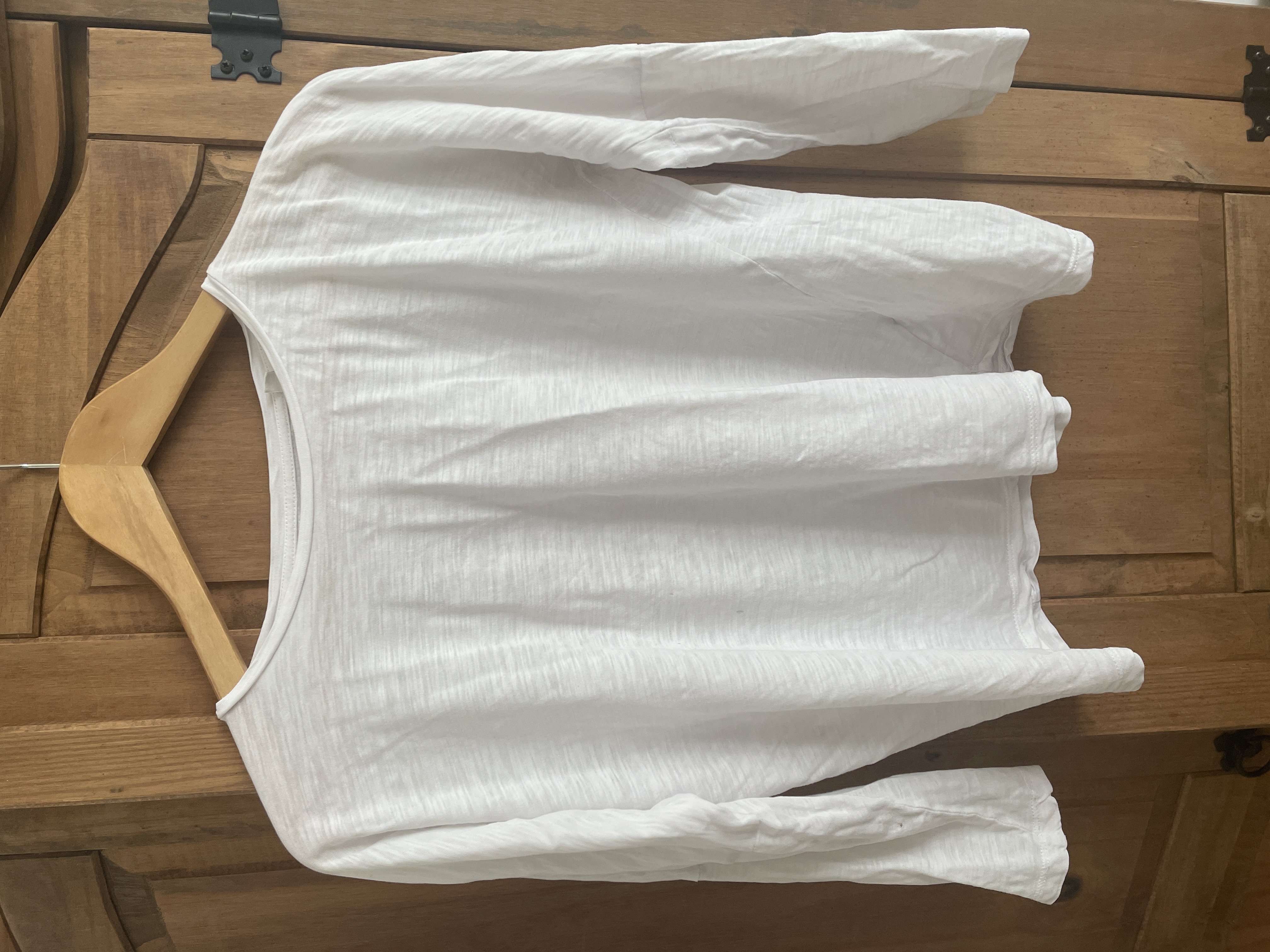 Image of Sancho's  White T-shirt size 8