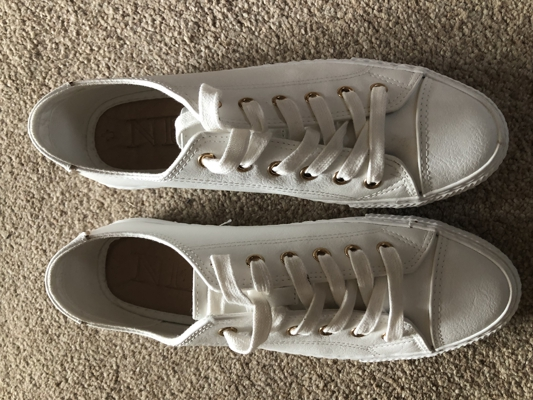 Image of Next White pumps size 6
