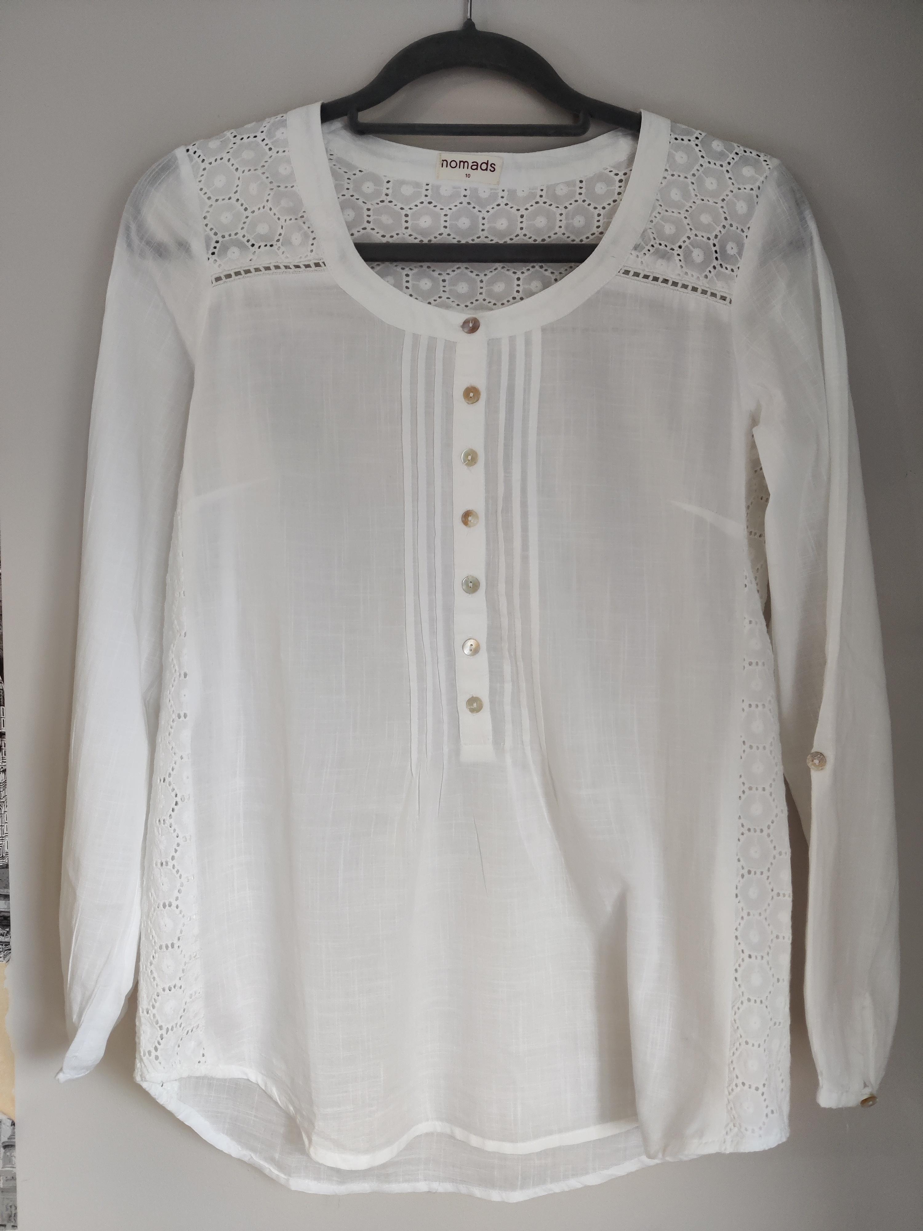Image of Nomads White blouse