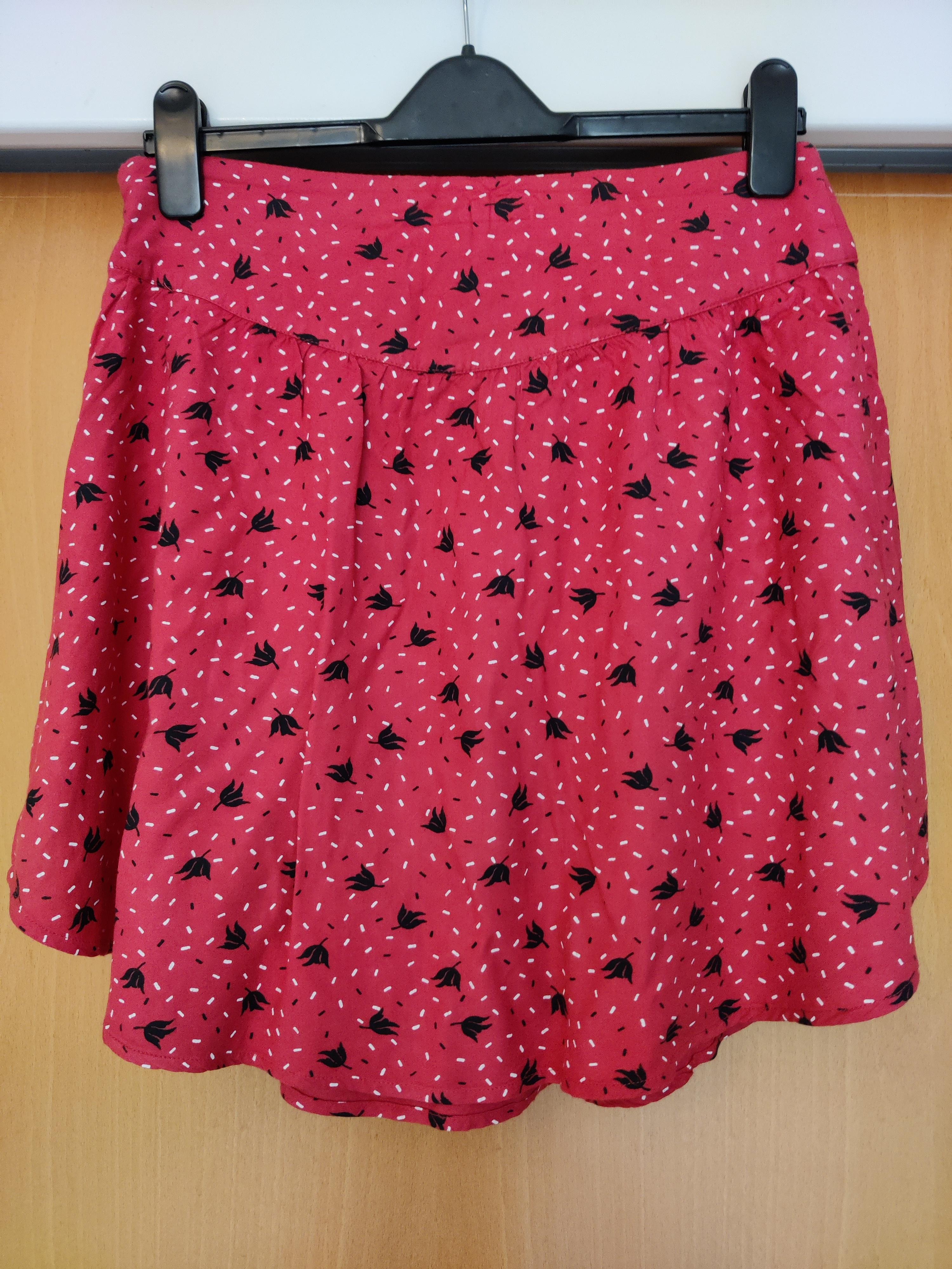 Image of Pins and Needles Mini skater skirt
