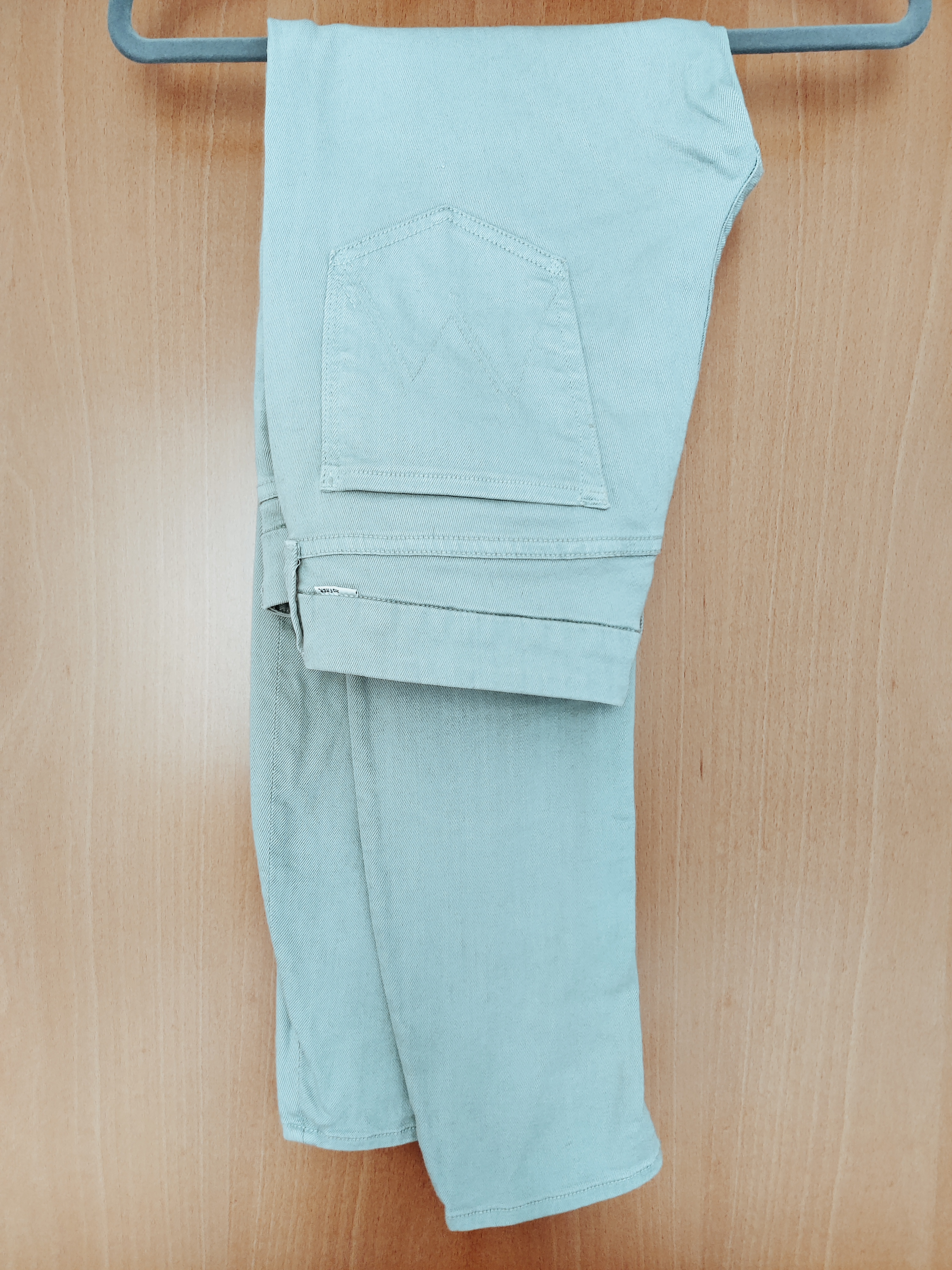 Image of Mother Powder blue jeans