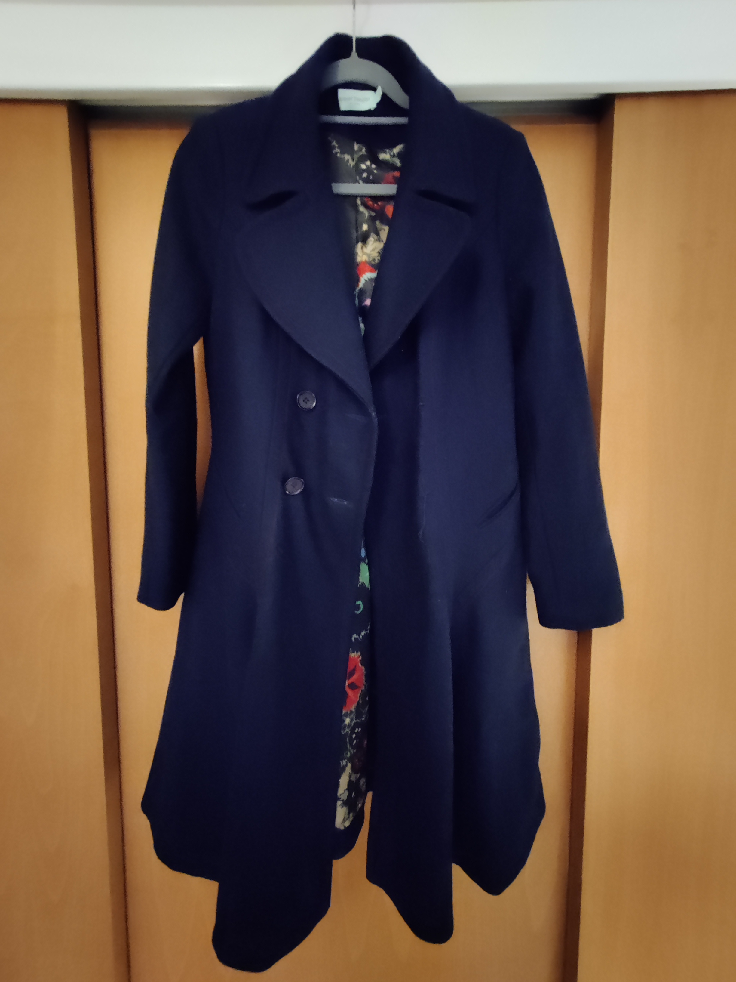 Image of Almost Famous London Navy frock coat
