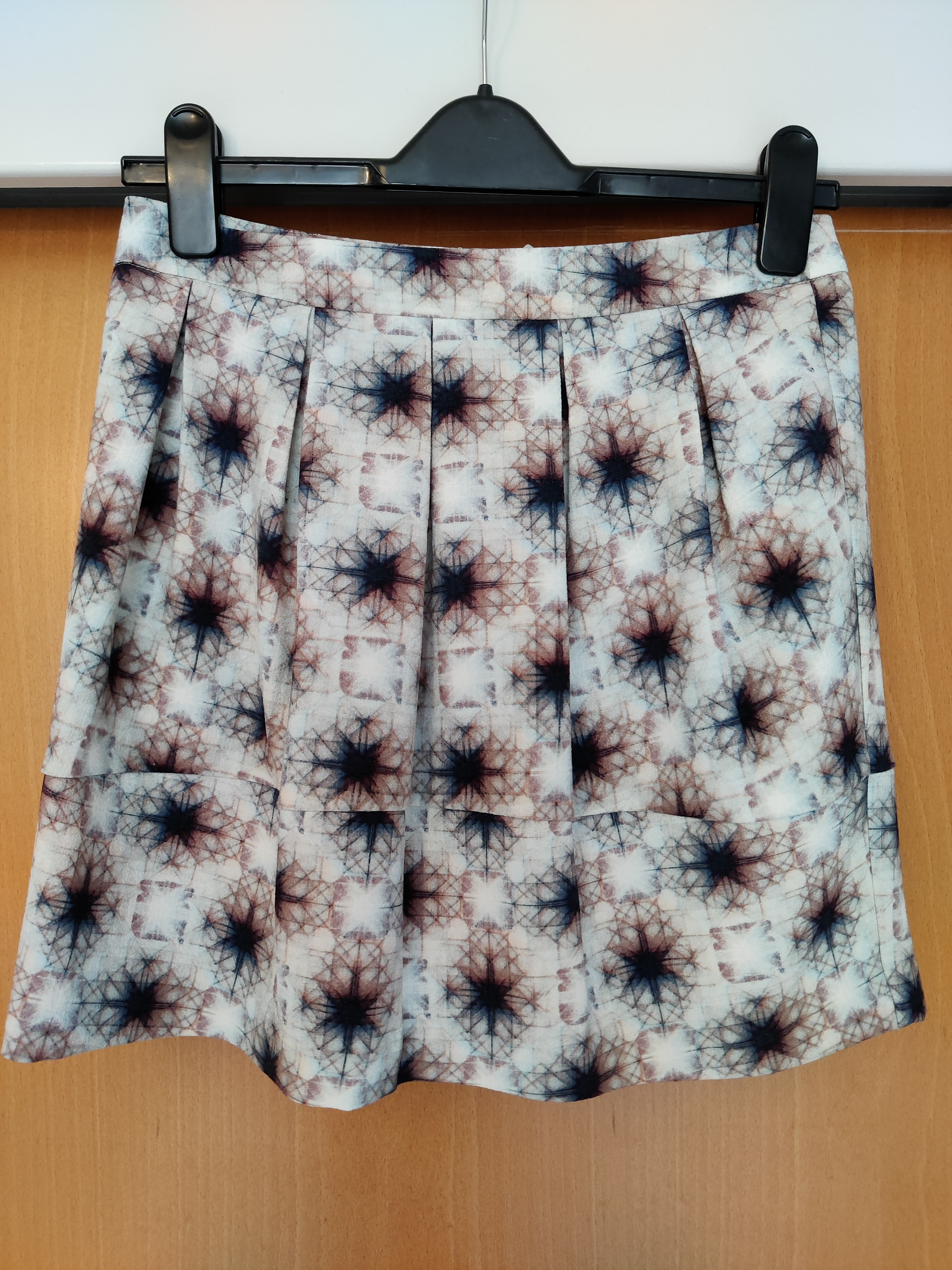 Image of Selected Graphic print skirt