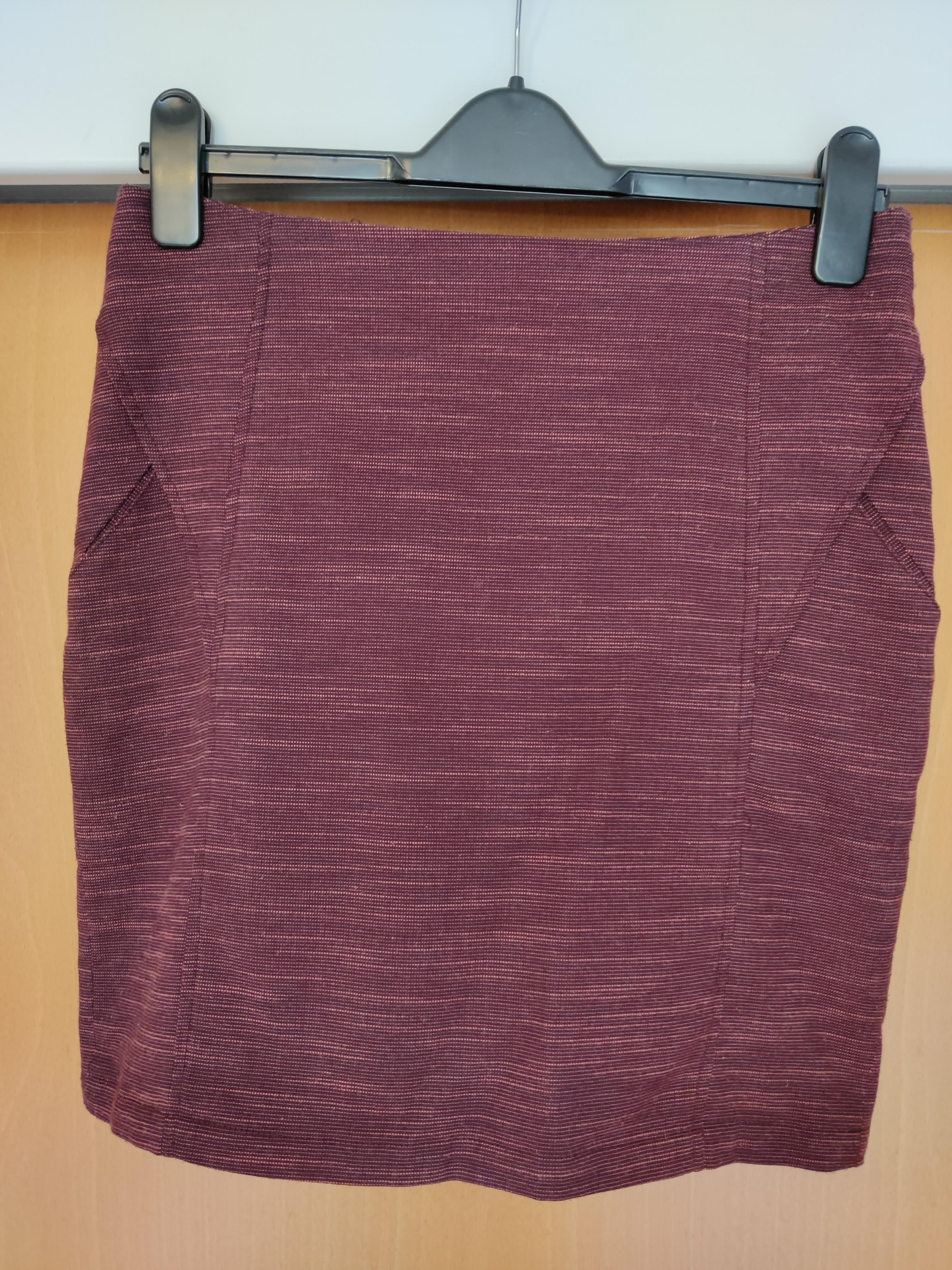 Image of SkunkFunk Rusty red skirt