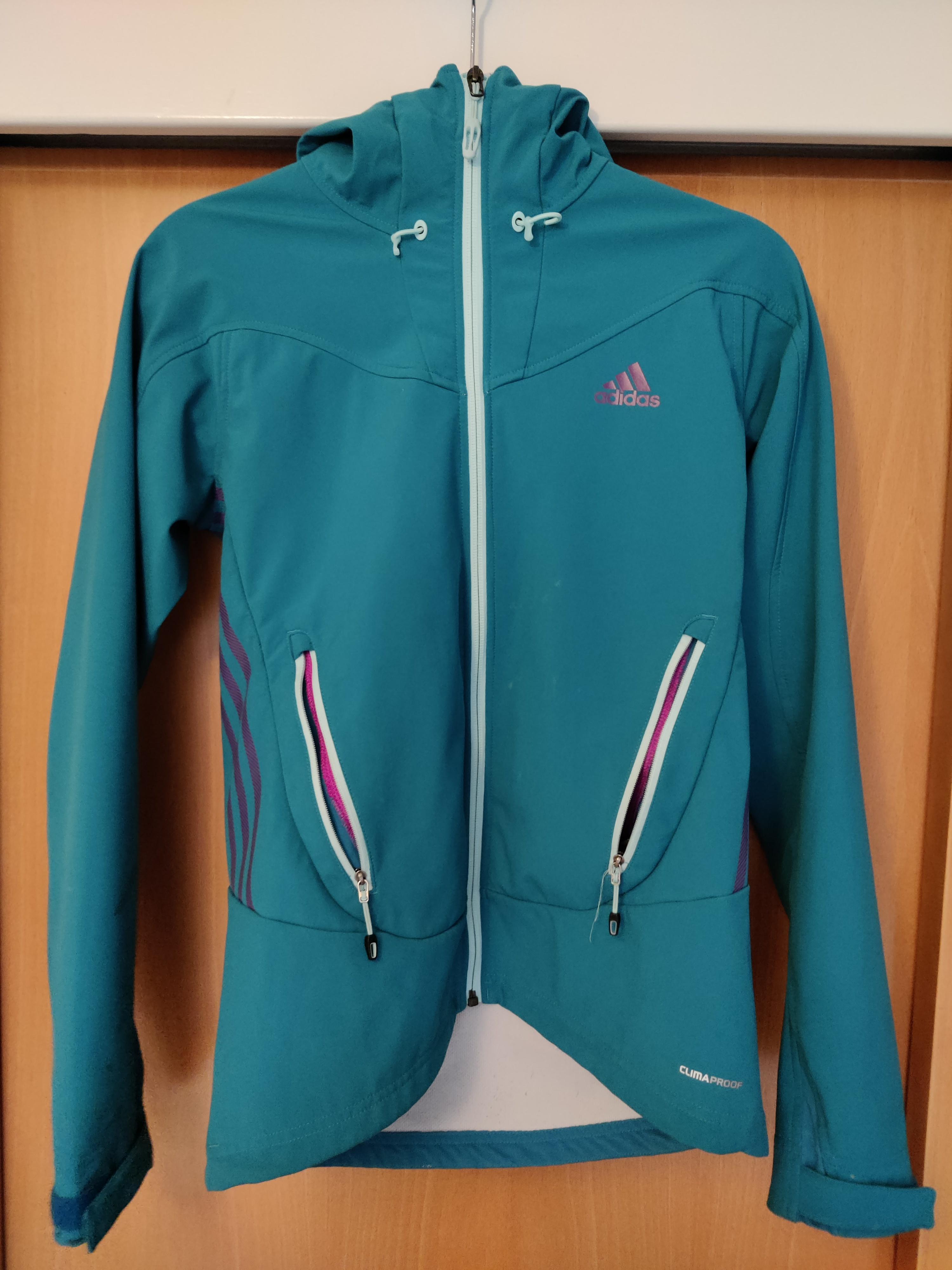 Image of Adidas Turquoise women's jacket