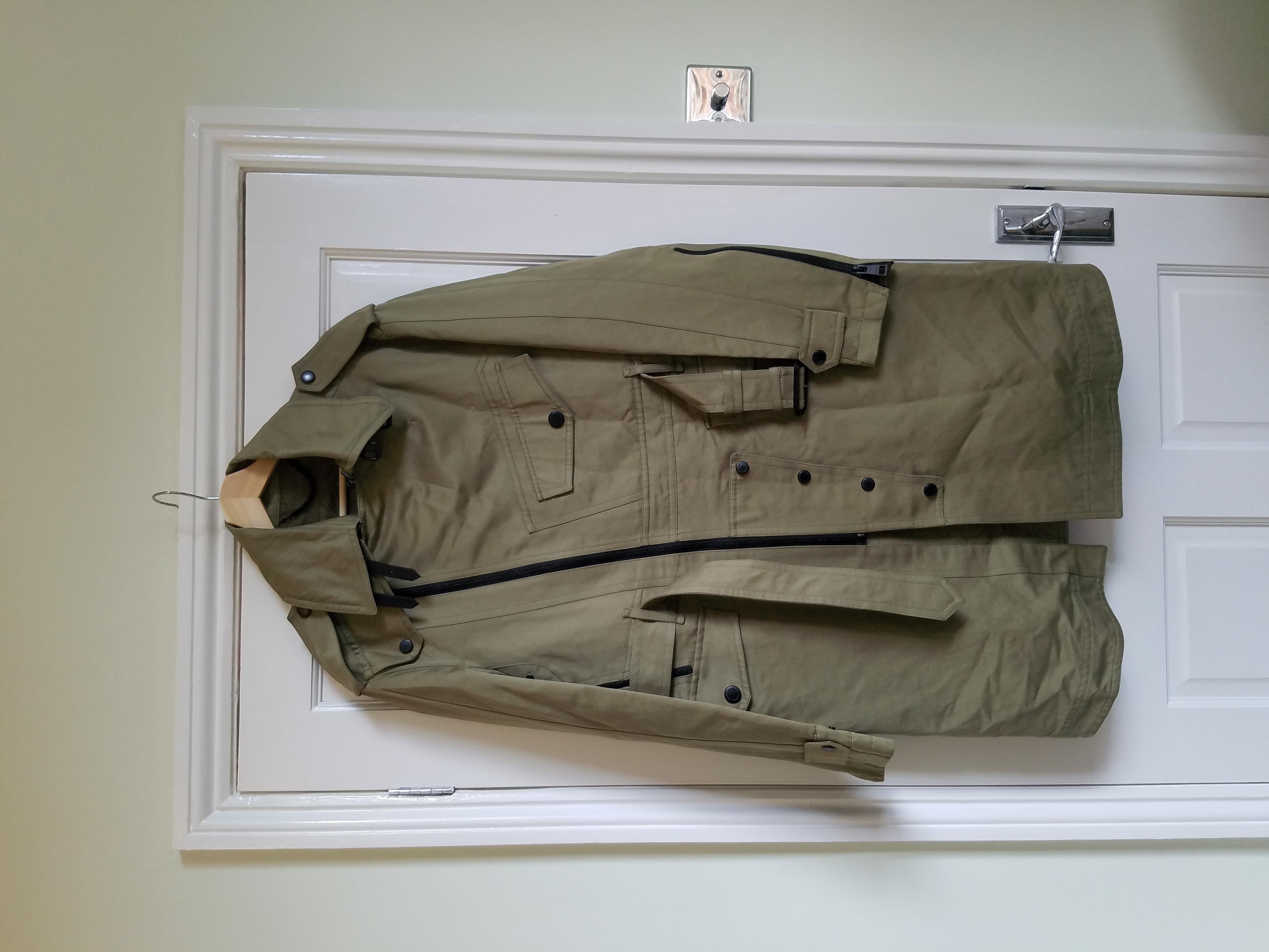 Image of Burberry Prorsum Men's Trench Coat