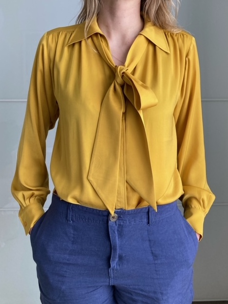 Image of M&S Blouse with bow