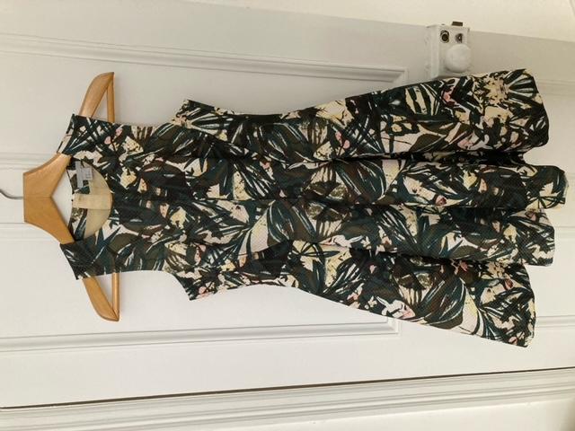 Image of H&M Palm leaf dress