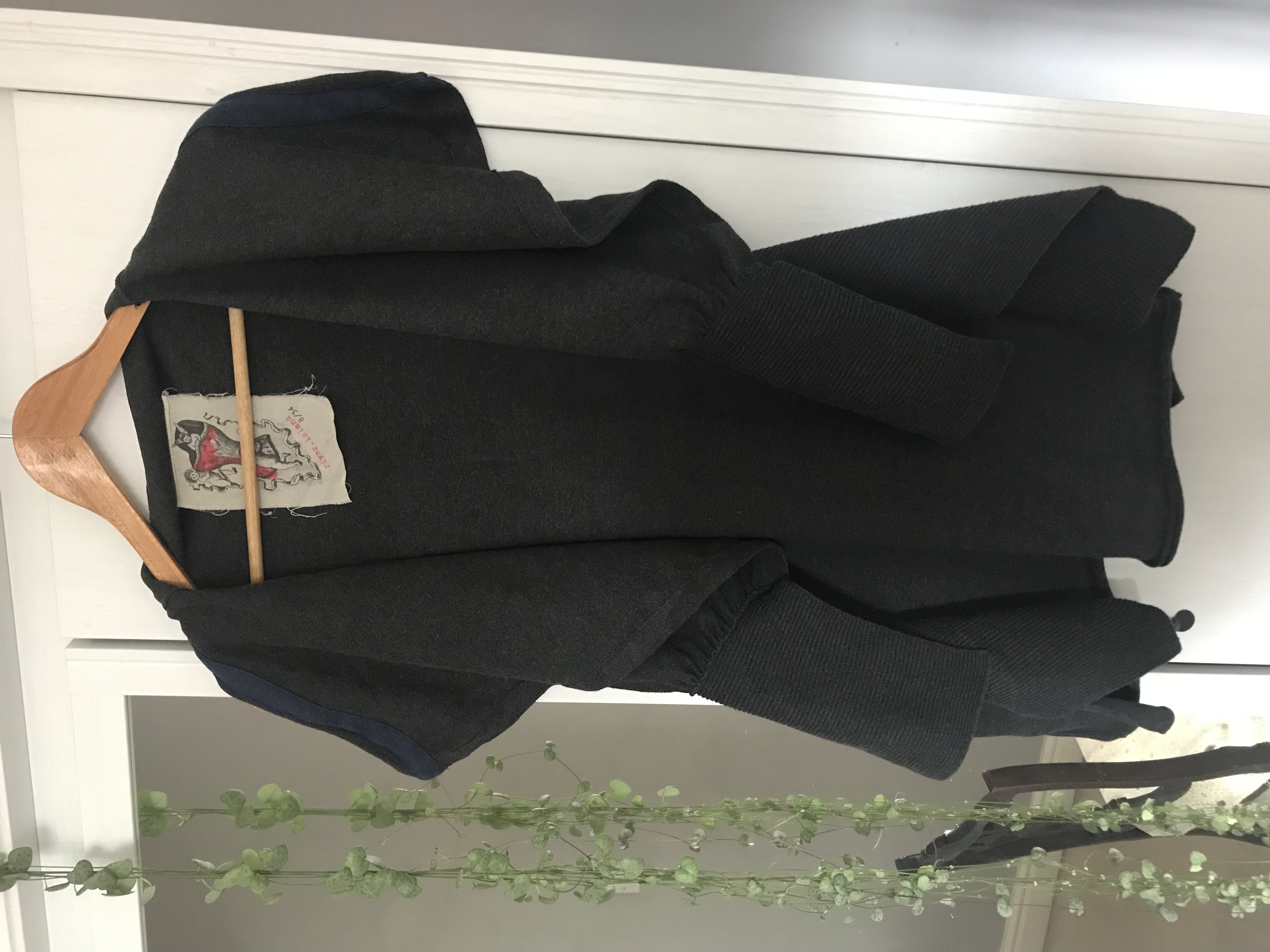 Image of River Island Sleeveless asymmetrical cardigan