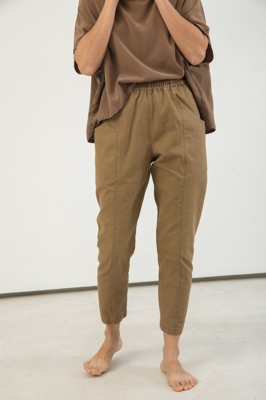 Image of Elizabeth Suzann Clyde Work Pant in Cotton Canvas