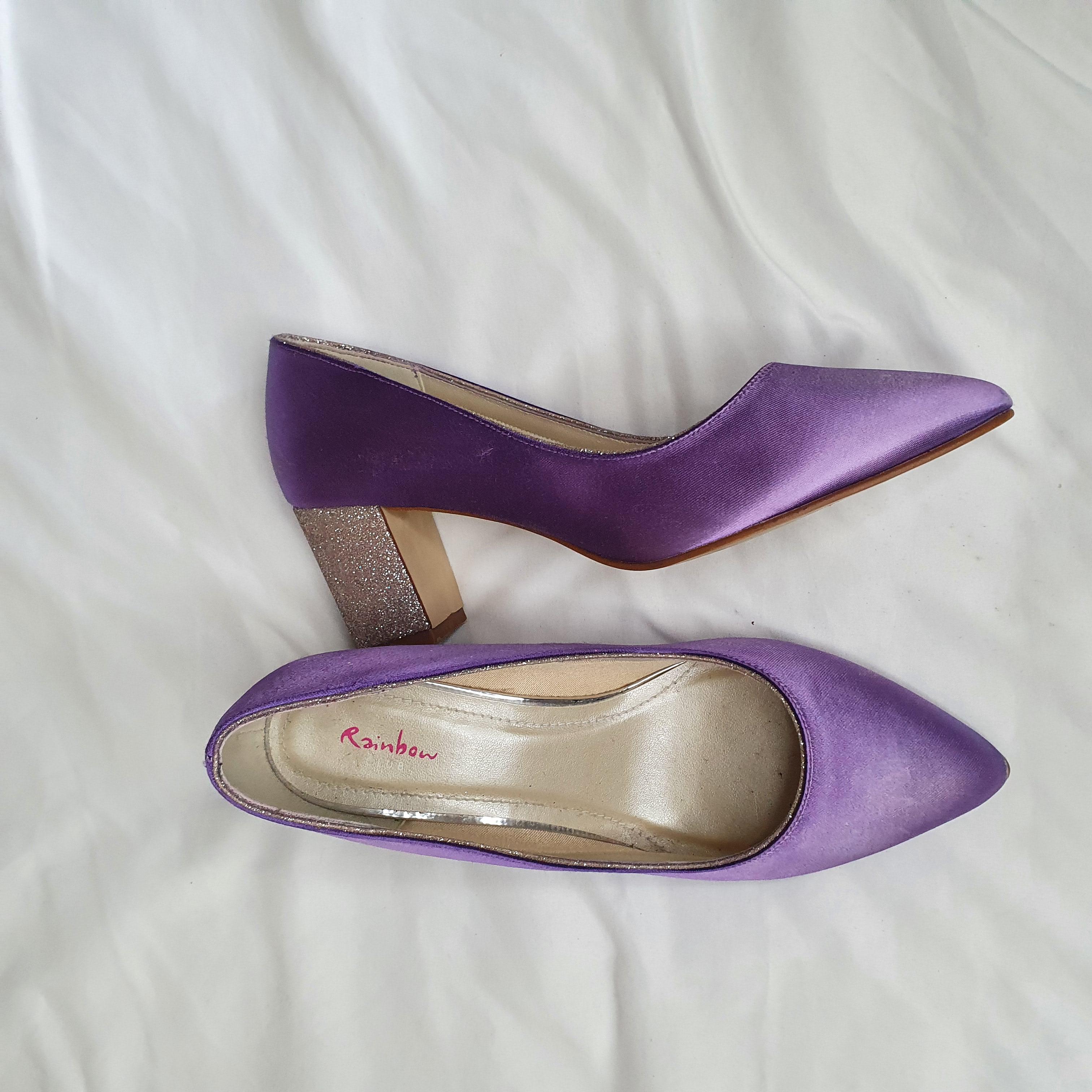 Image of Rainbow court heels