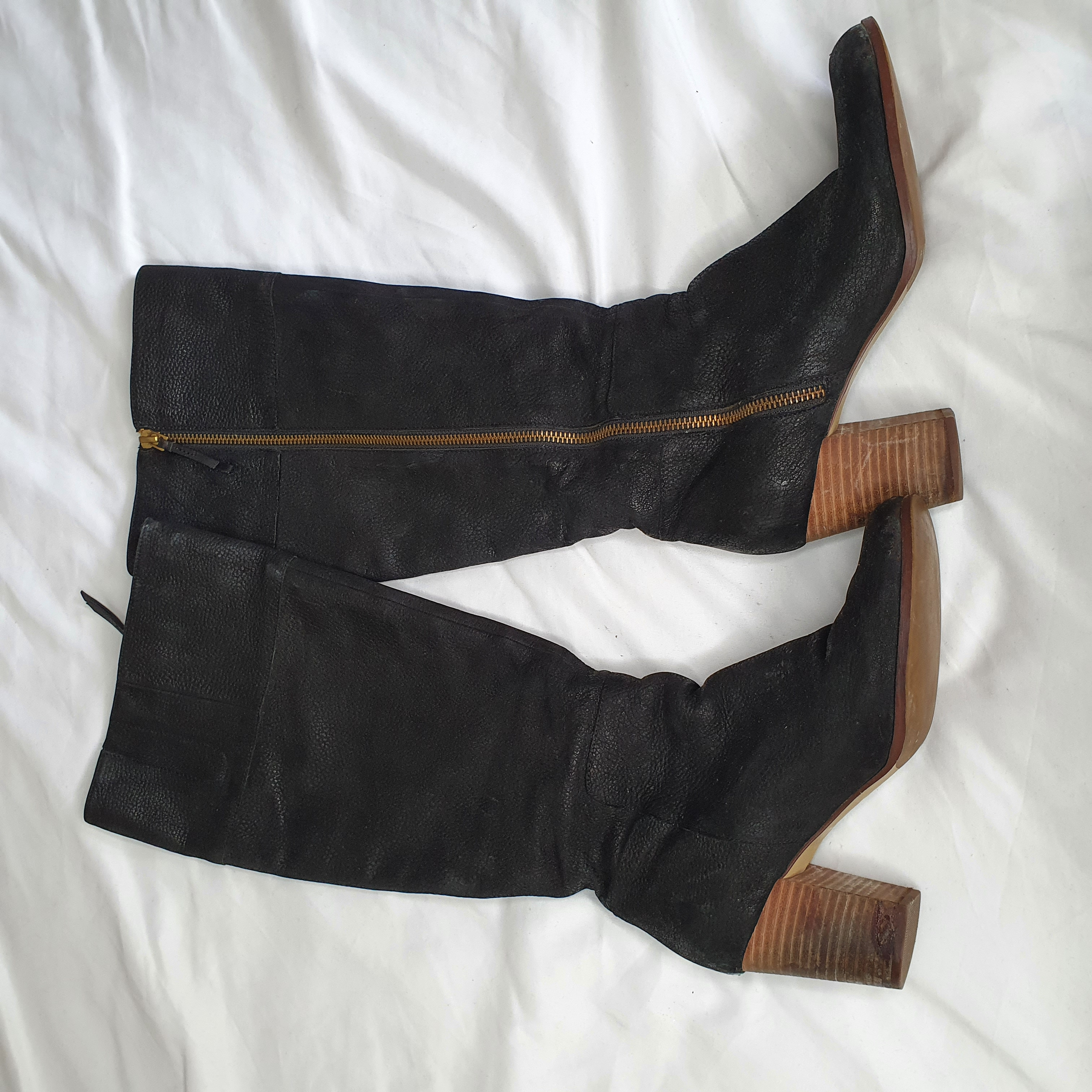 Image of Cole Haan Tall black boots