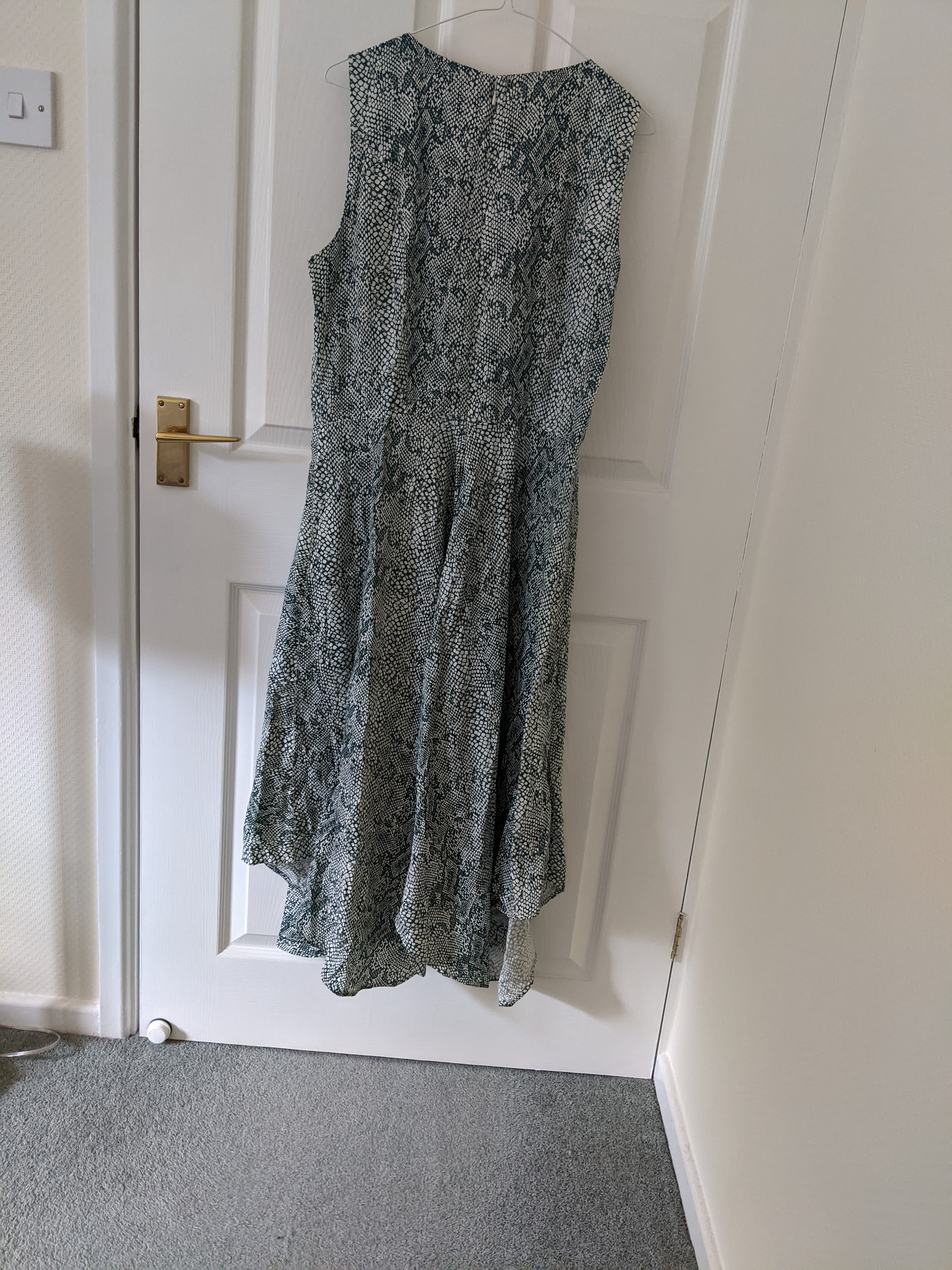 Image of People Tree Snakeskin print dress