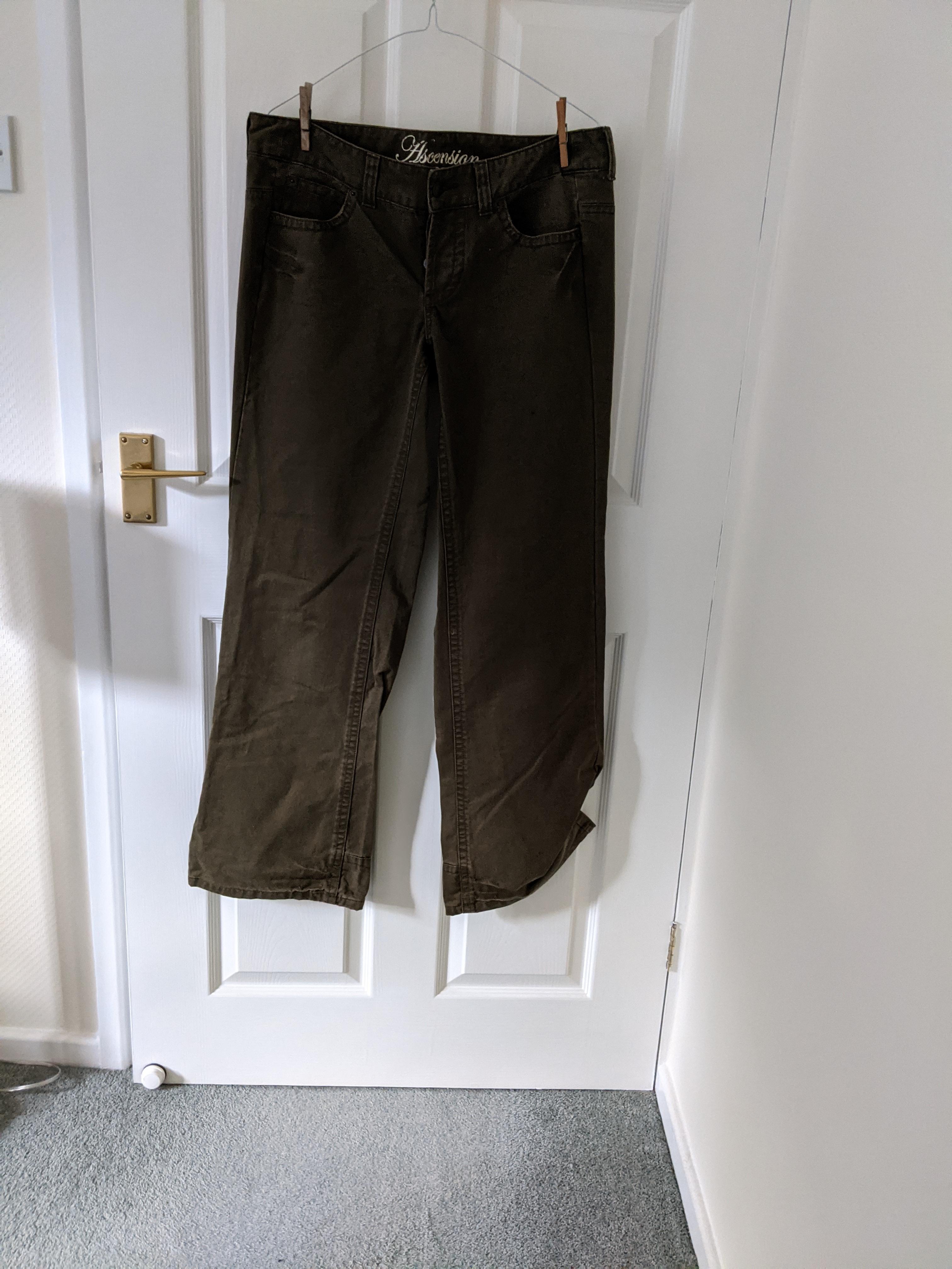 Image of Ascension Olive green jeans