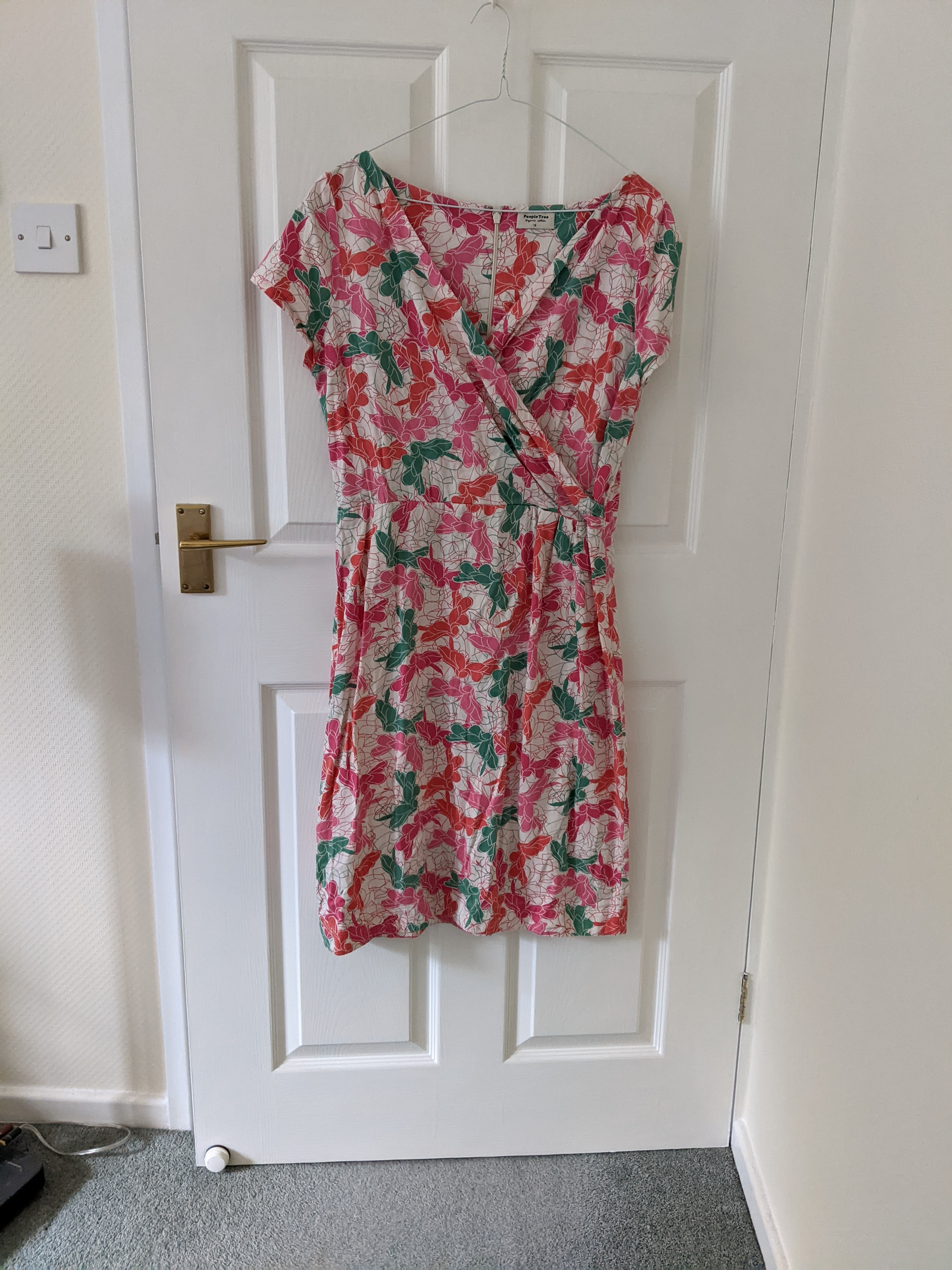 Image of People Tree Dress with top wrapover detail