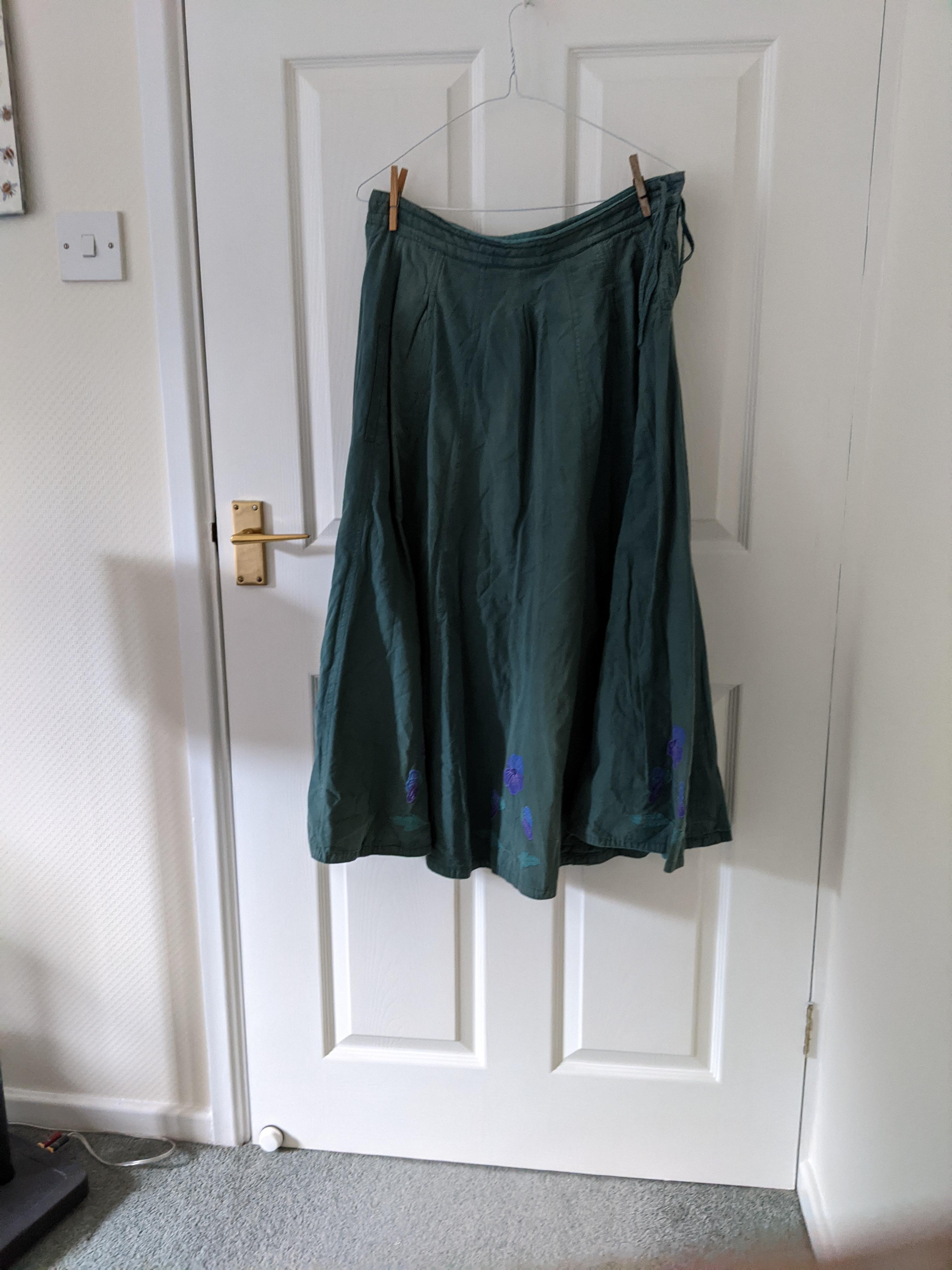 Image of Bishopston Cotton jacket and skirt