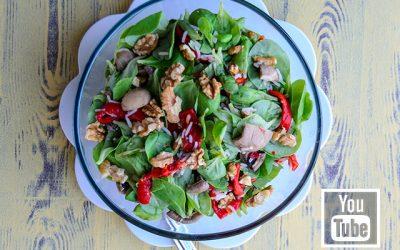 Pirinçli Mantarlı Semiz Otu Salatası