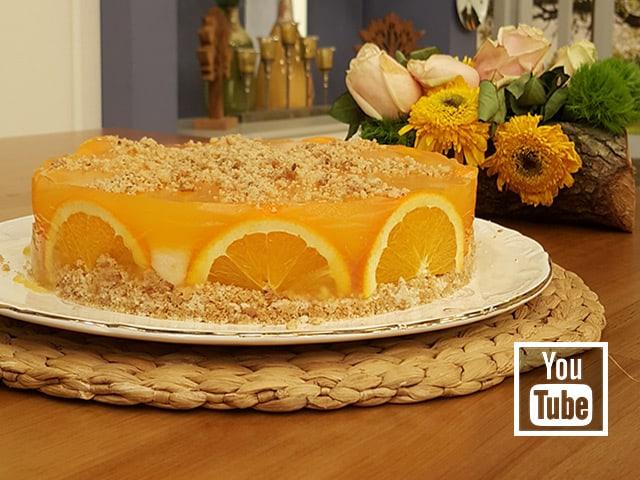 Portakal Soslu İrmik Tatlısı (Videolu)