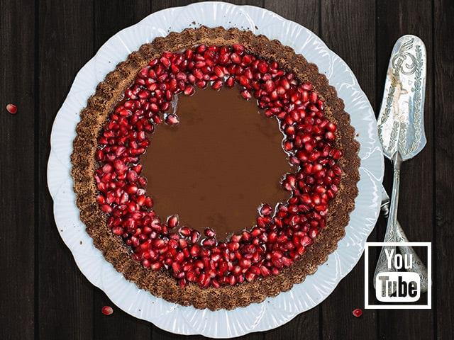 Çikolatalı Tart Kek (Videolu)