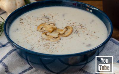 Mantar Çorbası (Videolu)