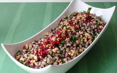 Börülce Salatası (cevizli,narlı,susamlı)