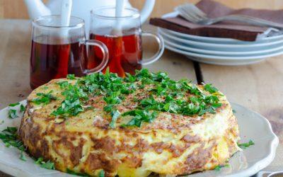 Fırında Jambonlu Patates