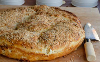 Peynirli Susamlı Çörek