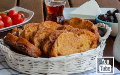Yumurtalı Sütlü Ekmek Kızartması