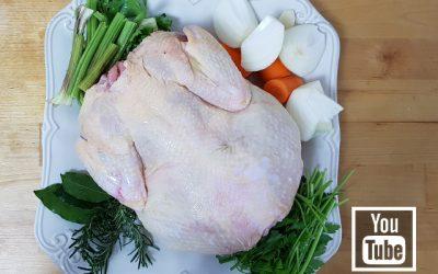 Tavuk Nasıl Haşlanır ? Tavuk Suyu Nasıl Yapılır ?
