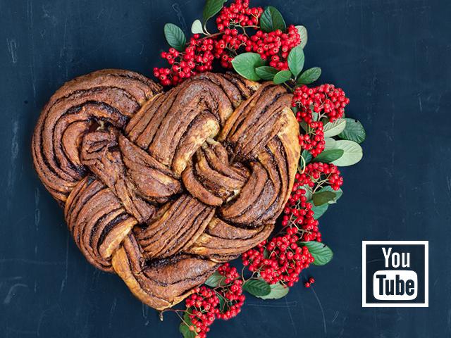 Sevgi Çöreği (Sevgililer Günü Tarifi)
