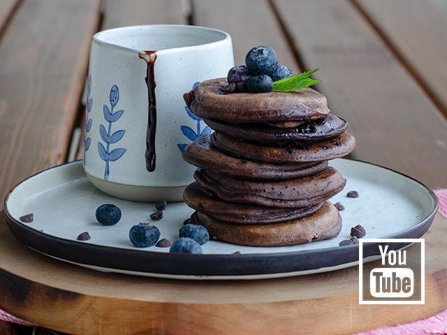 Çikolatalı Kakaolu Pancake Tarifi