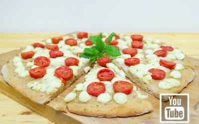 Peynirli Domatesli Pizza (videolu)
