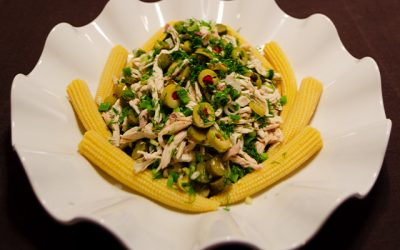 Bebe Mısırlı Tavuk Salatası