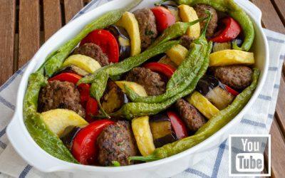 Patlıcanlı Patatesli Köfte Tarifi