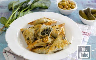 Ispanaklı Peynirli Börek Tarifi – Spanakopita Tarifi