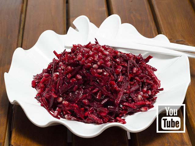 Pancar Salatası Tarifi (Ayvalı, Narlı, Elmalı)