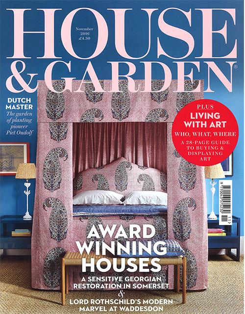 HOUSE&GARDEN NOV 16