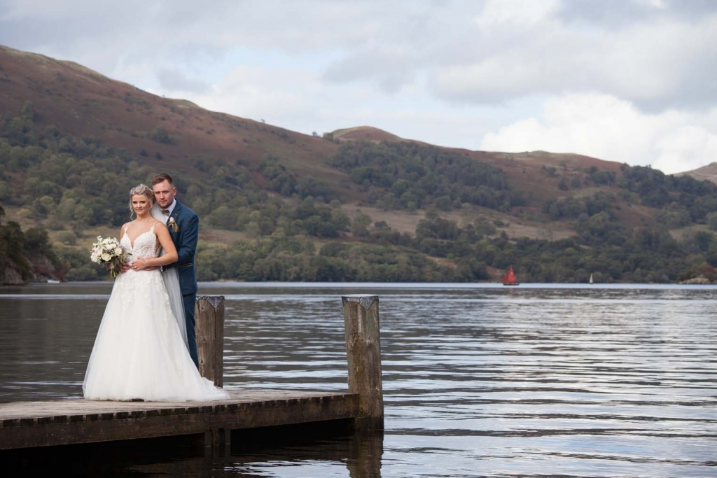 Wedding photographers in Leeds covering weddings at Inn On The Lake in The Lake District