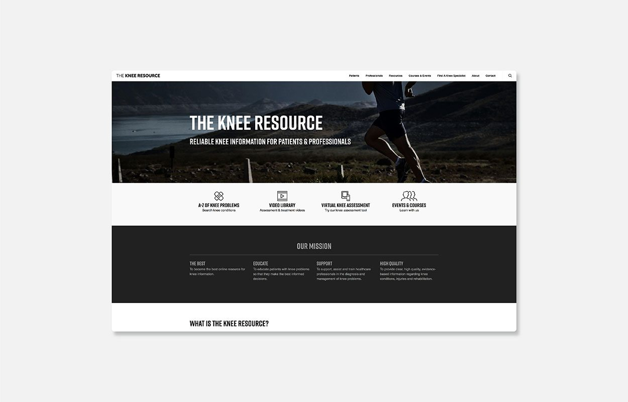 The Knee Resource