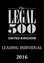 Legal 500 2016: Leading Individual