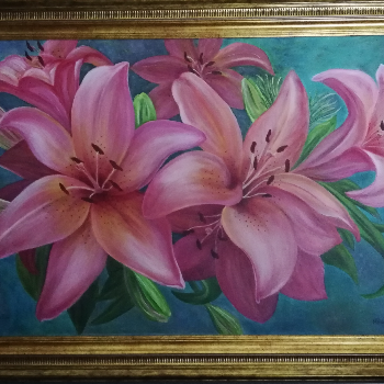 Missing image of Pink lilies