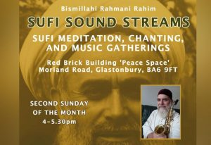 sufi sound streams glastonbury mikail rose