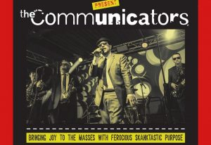 the communicators, red brick building glastonbury