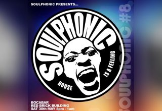 Soulphonic 8, Red Brick Building Glastonbury