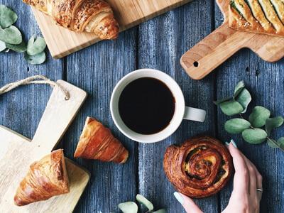 Free Breakfast Basket