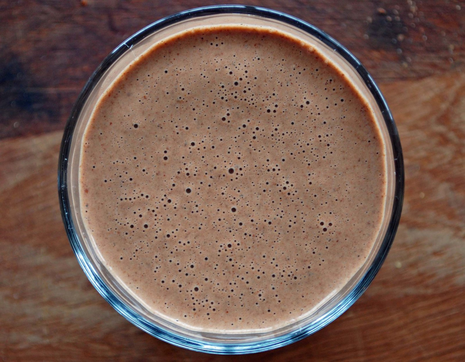 Raw Cacao and Flax Seed Breakfast Smoothie