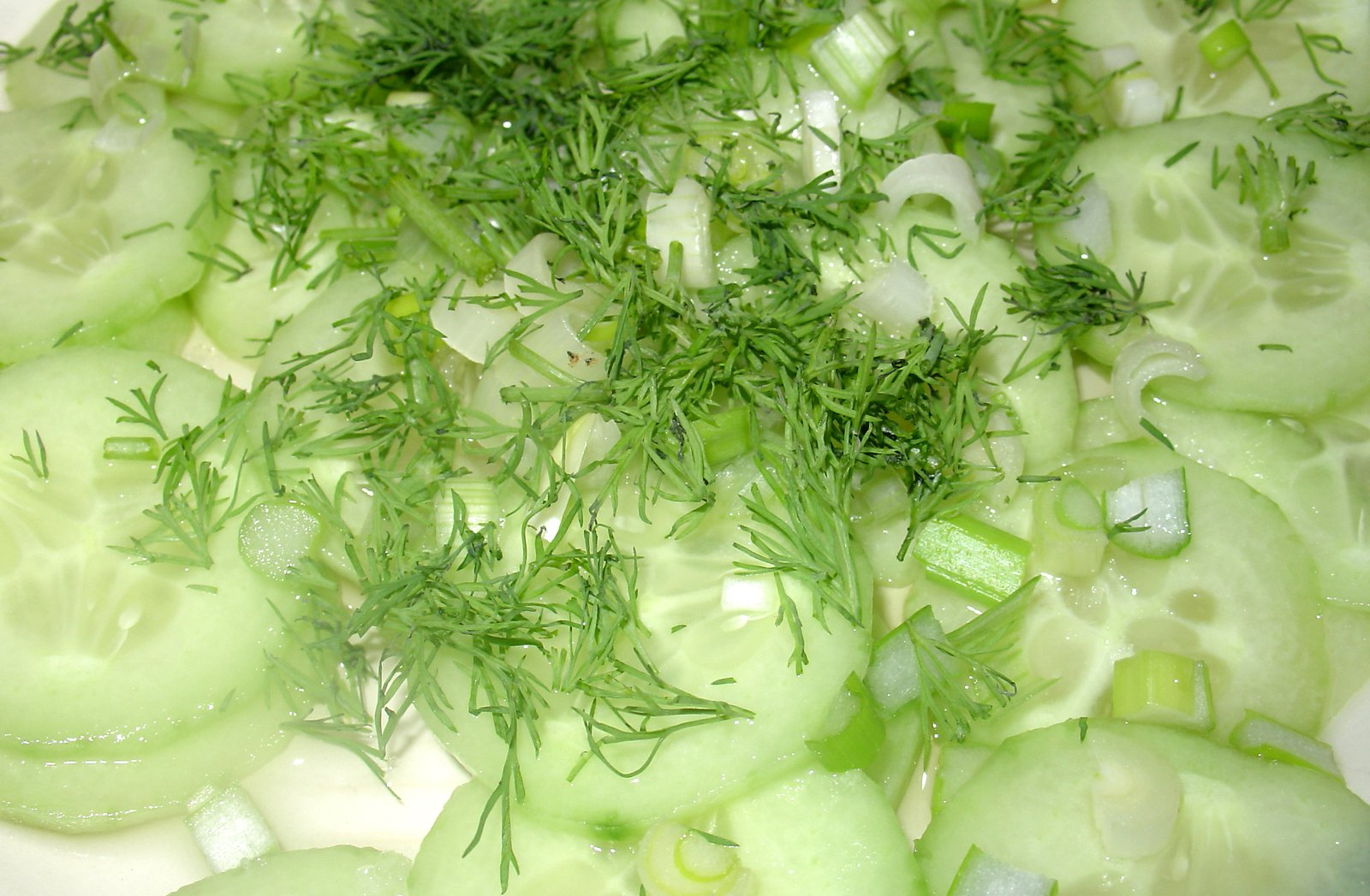 Cucumber And Dill Salad